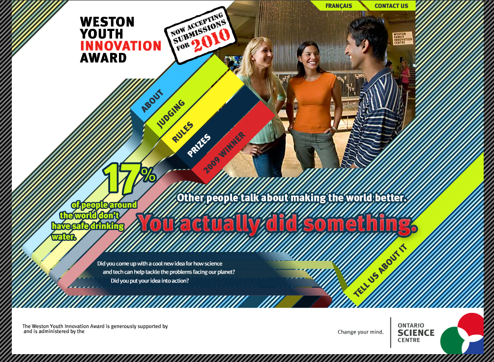 Weston Youth Innovation Award Site